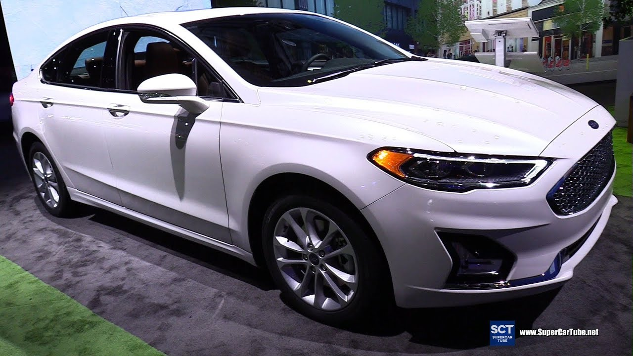2019 Ford Fusion Energy Anium Exterior And Interior Walkaround Detroit Auto Show