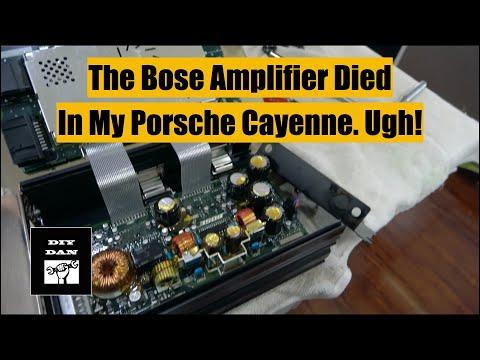 Porsche Cayenne: Bose Amplifier Replacement