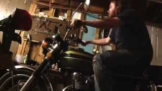 1972 honda cb450 after valve adjustment and carb clean