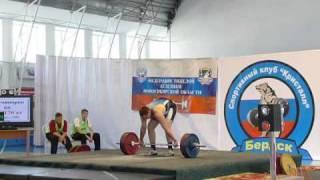 Чемпионат СФО по тяжелой атлетике 2009