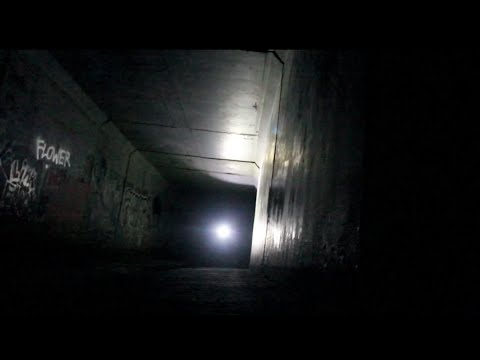 ABANDONED - Exploring Massive Tunnel Under California Freeway