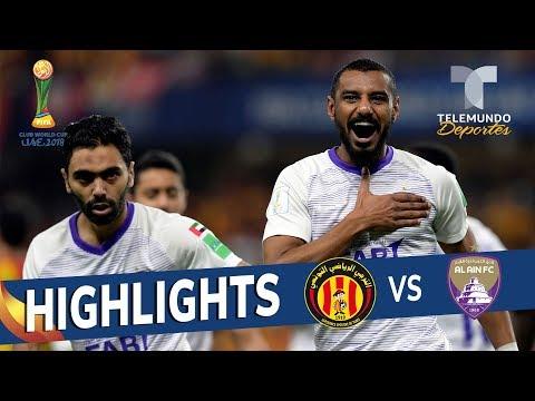 Espérance Sportive de Tunis vs. Al Ain FC : 0-3 Goals & Highlights   Mundial de Clubes   Telemundo