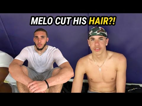 LaMelo Ball Is BACK IN LA! Returns From Lithuania With HAIRCUT & LONZO MOVES 🔥
