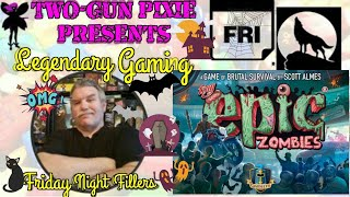 Friday Night Fillers - Tiny Epic Zombies (Solo Showdown)