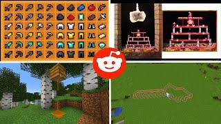Lo vi en Reddit Minecraft - EP5 - Super velocidad en rieles, decoraciones, textures packs y más...