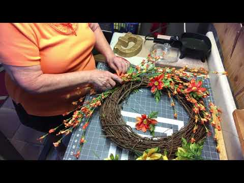 How to make a summer wreath for the front door