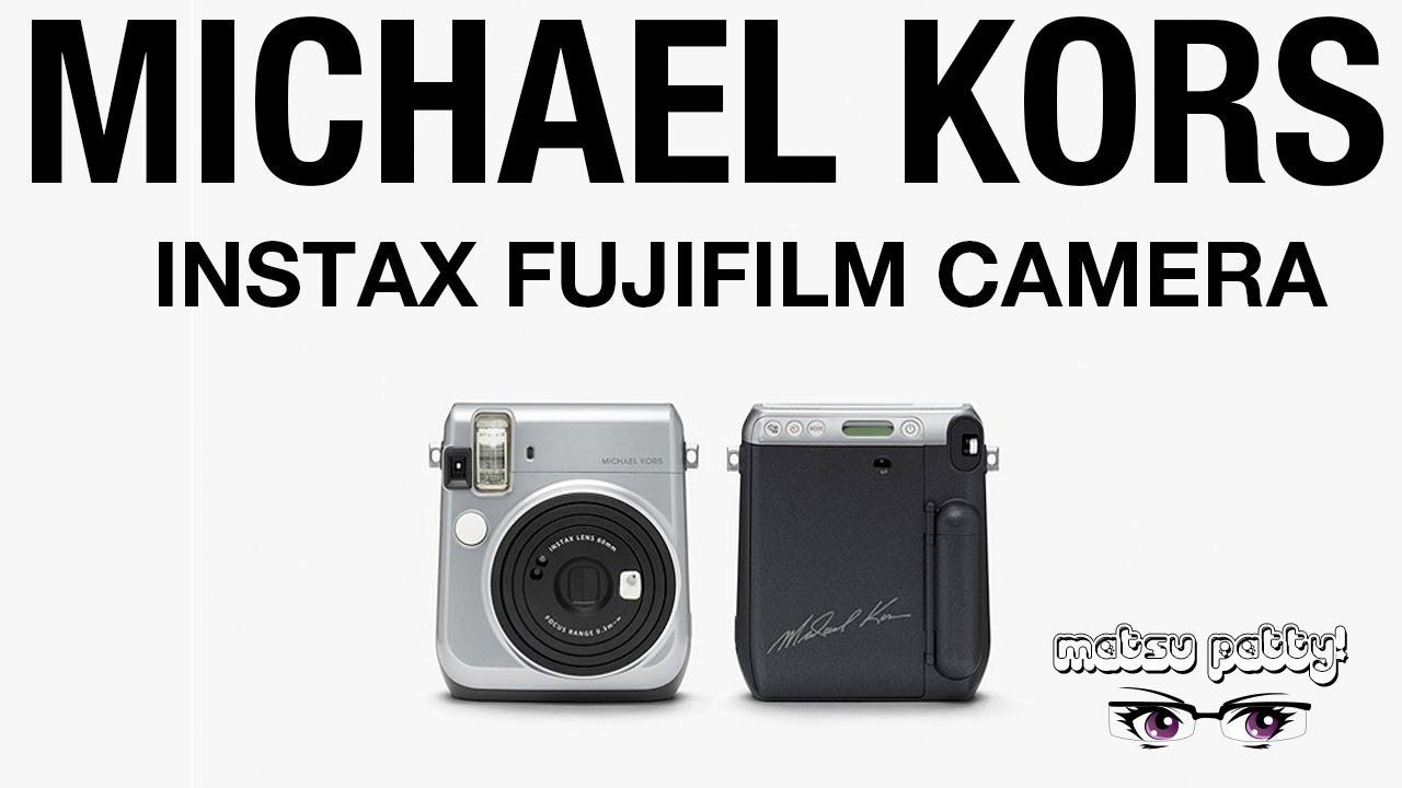 e5875c09d68c Michael Kors - FujiFilms Instax Camera - Unboxing - YouTube