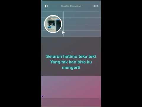 Kotak & Anggun - Teka Teki (Karaoke & Lyric / Without Voice) smule version | AR Conf
