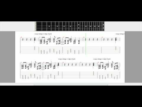 American idiot - Green Day - Guitar Tutorial - Guitar Pro - TABS
