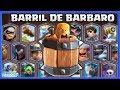 BARRIL DE BARBARO vs TODAS LAS CARTAS - CLASH ROYALE NUEVA CARTA EPICA