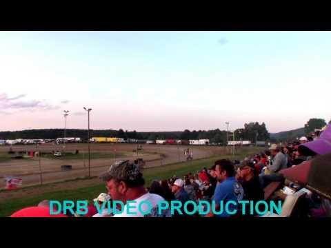 Marion Center Speedway 8/5/17 Mirco Sprint Heat 2 OF 2