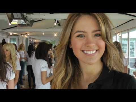 Miss Universe Australia 2011 WA Preliminary Campaign - Breakfast with Jesinta Campbell