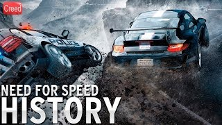 Evolution of Need for Speed Games 1994 - 2017