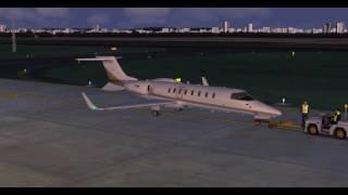 [FSX] Learjet 45 - Vitória/VIX to Rio de Janeiro/GIG