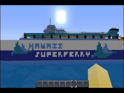 Minecraft: Hawaii Superferry Pack