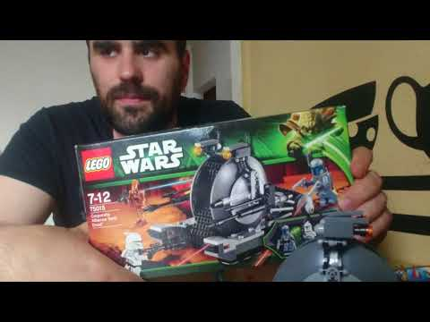 Heti Videó: 16# Lego Star Wars - 75015 Corporate Alliance Tank Droid