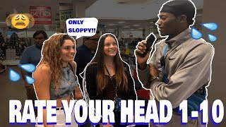 RATE YOUR HEAD 1-10(She gives SloppyToppy😫💦🤯) Public Interview