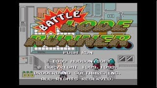 BATTLE LODE RUNNER (Wii U Virtual Console)- 60FPS Gameplay Footage