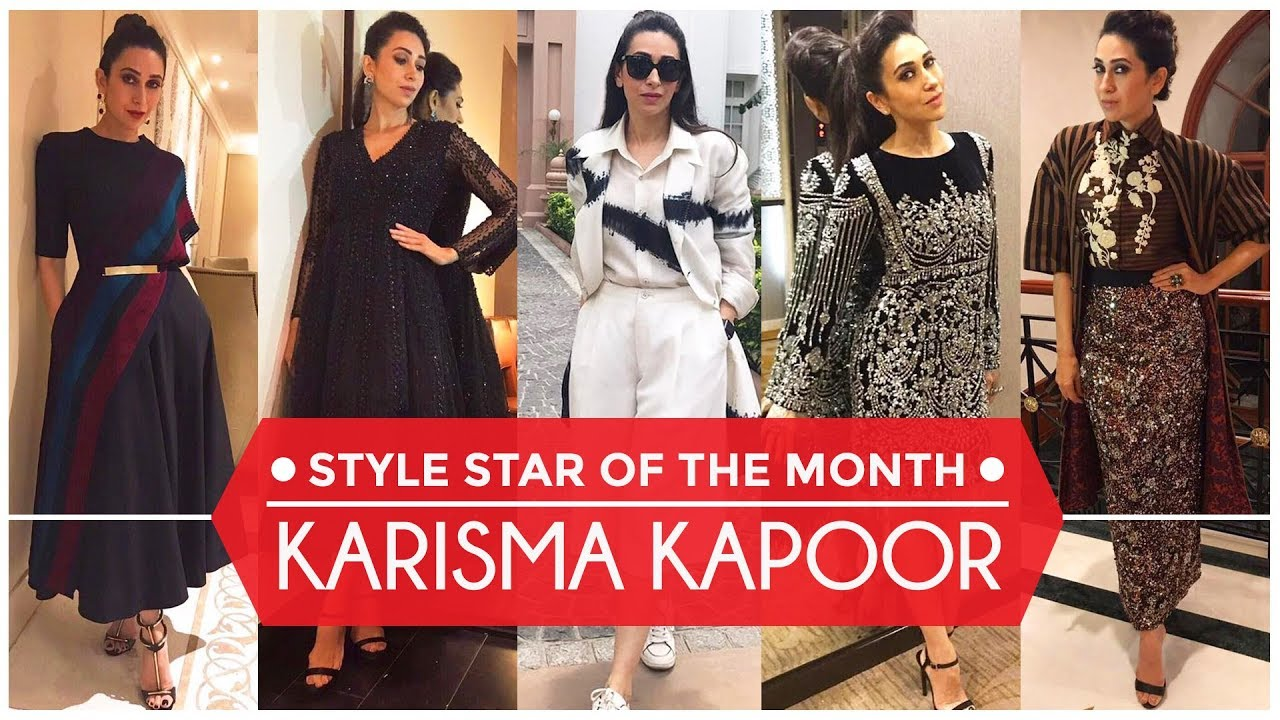 Karisma Kapoor - Style Star of the Month | S01E02 | Bollywood | Pinkvilla