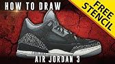 d8c571cc886c01 4 07. Play next  Play now. Sneaker Art  Air Jordan 12 Bordeaux w  Downloadable  Stencil - Duration  ...