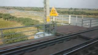 train window view ride to pune