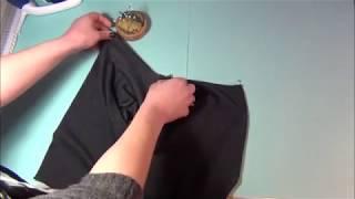 Sådan syr du halskanten på t-shirt eller jersey-kjole