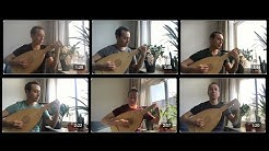 Pierre Attaingnant - six pieces for renaissance lute played by Israel Golani