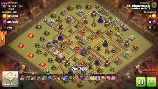 Syrian Wolf 3 Vs 乐逍遥 |Clear Th11 bases 💪❤