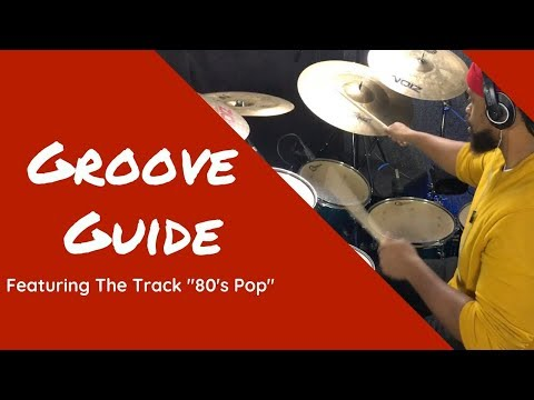 80's Pop Groove Guide - DrumTrax App [Free Drum-less Tracks]