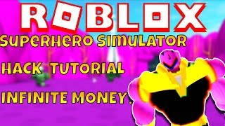 💰 INFINITE COINS SUPER HERO SIMULATOR E SIMULATORE HACK TUTORIAL Roblox