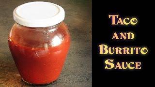 Tex-Mex TACO & BURRITO SAUCE & Using Empanada Beef Leftovers