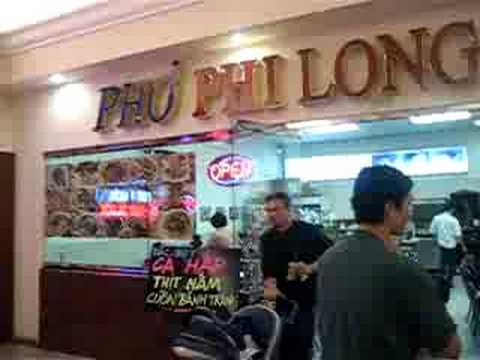 Pho Phi Long in Grand Century San Jose USA