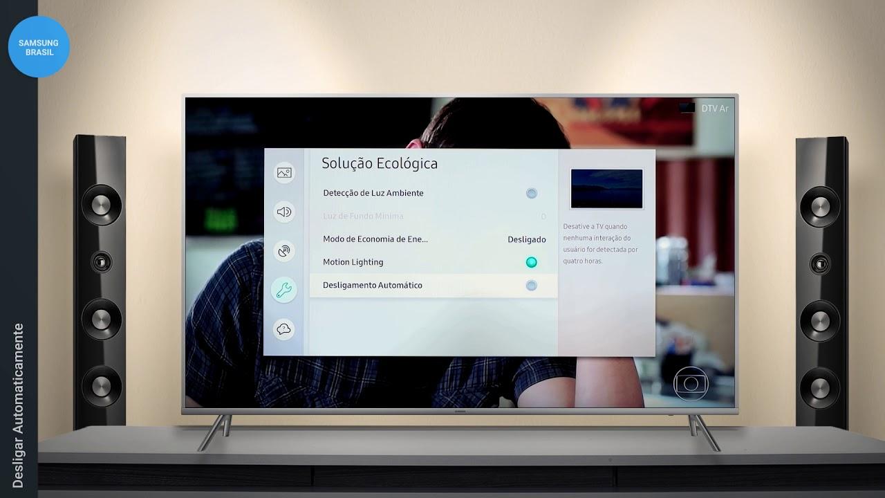 Samsung | MU 7000 - Desligar Automaticamente