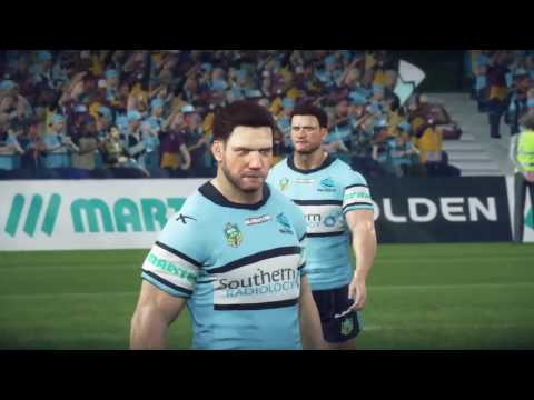 Rugby League Live 3 (PS4) | Sharks v Broncos
