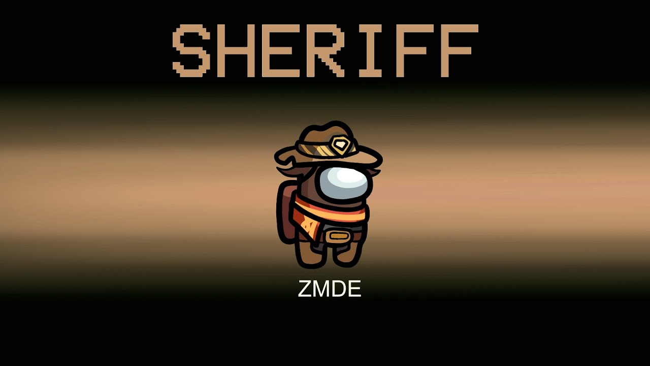 Among Us But SHERIFF CREW Role (mods)