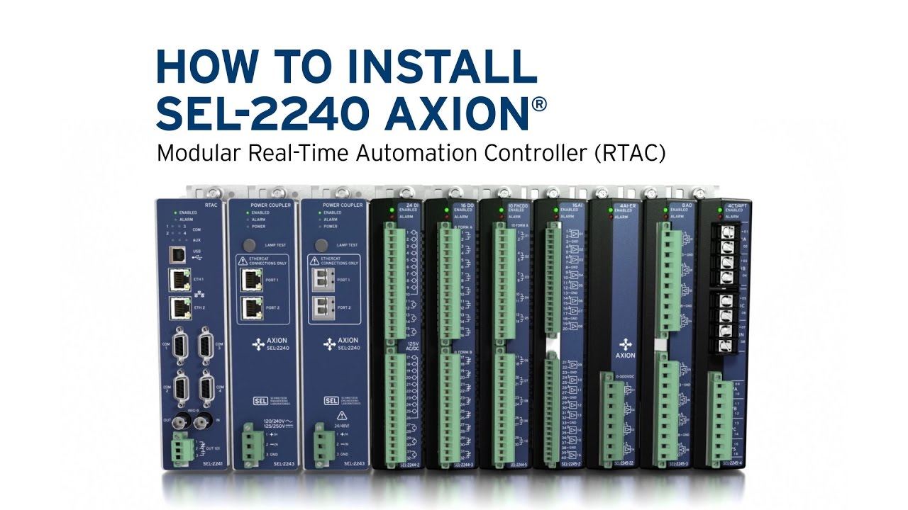 How to install sel 2240 axion youtube ccuart Image collections
