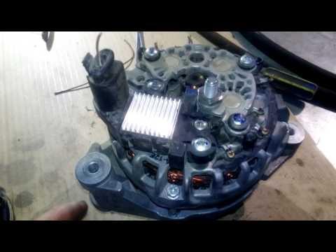 Как разобрать генератор бош на гранте