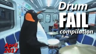Drum FAIL compilation  April 2017 | RockStar FAIL