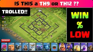 Town Hall 9 Mega Troll Base 2019 - th9 attack strategy