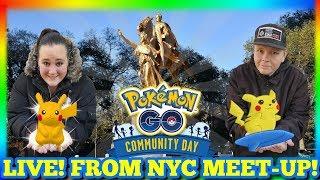 6 SHINY PIKACHU SURF CAUGHT Pokémon GO IN NYC