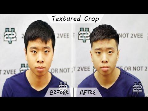 Cắt tóc nam đẹp Textured Crop | Kiểu tóc nam ngắn cho mùa hè 2017 | 2Vee Hair Station