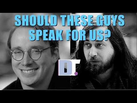 Are Richard Stallman And Linus Torvalds Good For Linux?