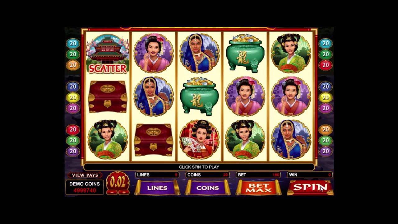 Jewels Of The Orient Slot Machine