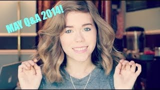 New hair,Summer,College: May 2014 Q&A | Makeupkatie95 Thumbnail