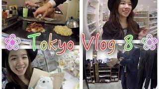 ❀ TOKYO, JAPAN VLOG 8 ❀ OKONOMIYAKI, I WON A PRIZE, 0101 SHOPPING, FAVOURITE 100 YEN SHOP