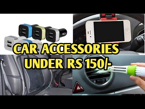 Car Accessories under Rs 150 which you should buy for your Car from Amazon