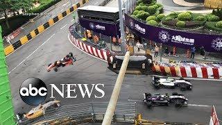 Teen survives dramatic crash at 170 mph