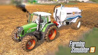 SLINGING SLURRY - Shamrock Valley 19 - Farming Simulator 2019