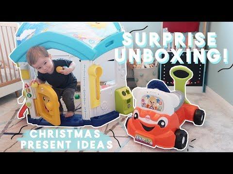 SURPRISE UNBOXING! | CHRISTMAS PRESENT IDEAS | KATE MURNANE | AD