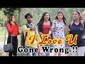 Girls Reacting On Lover Boy | Love You Prank Gone Wrong | Khurafati India